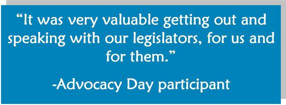 Advocacy day quote